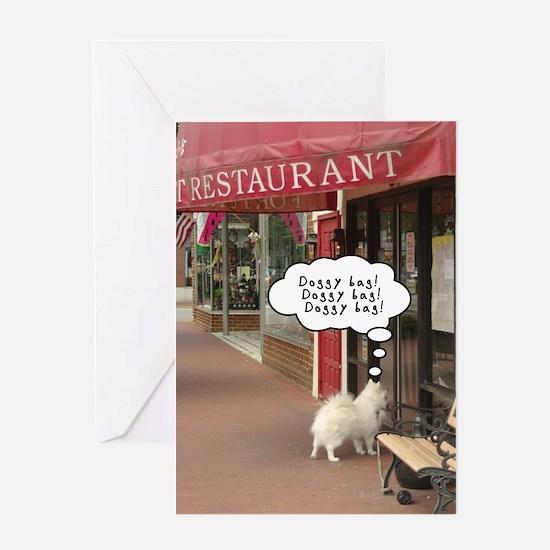 Doggy Bag! Doggy Bag! Greeting Card