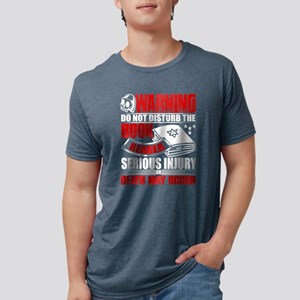Warning Do Not Disturb The Reader Book T S T-Shirt