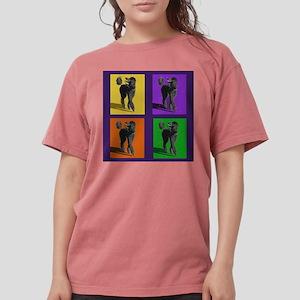 Poodle Pop Art Women's Dark T-Shirt