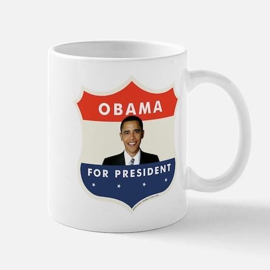 JFK-Obama Shield 051 Mug