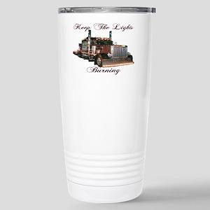 Keep The Lights Burning Stainless Steel Travel Mug