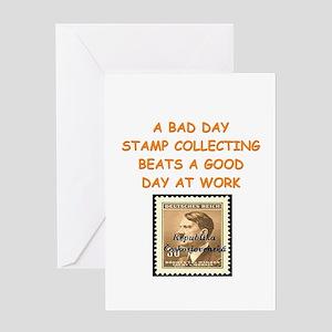philatelist Greeting Card