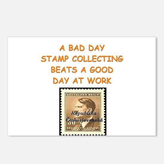 philatelist Postcards (Package of 8)