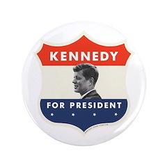 "JOHN F. KENNEDY 1960 Obama 3.5"" Button"