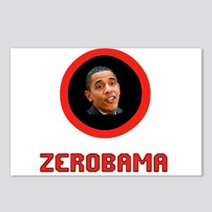 ZEROBAMA Postcards (Package of 8)