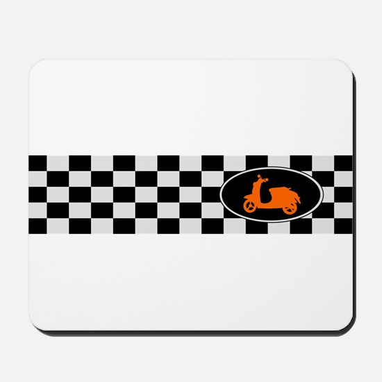Checkerboard Scoot Mousepad