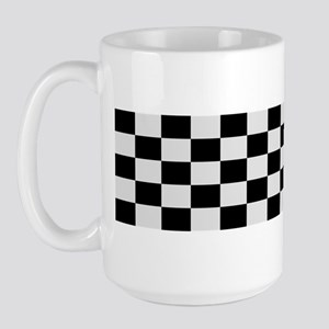 Checkerboard Scoot Large Mug