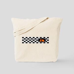 Checkerboard Scoot Tote Bag