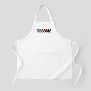 Checkerboard Scoot BBQ Apron