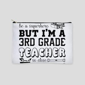 3rd Grade Teacher Makeup Bag