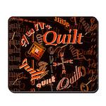 Quilt Pumpkin Mousepad