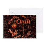 Quilt Pumpkin Greeting Cards (Pk of 10)