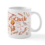 Quilt Pumpkin Mug