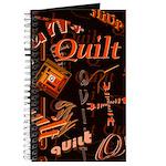 Quilt Pumpkin Journal