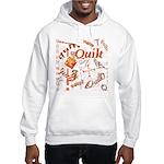 Quilt Pumpkin Hooded Sweatshirt