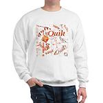 Quilt Pumpkin Sweatshirt