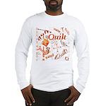 Quilt Pumpkin Long Sleeve T-Shirt