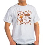 Quilt Pumpkin Light T-Shirt