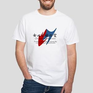Onnagokoro White T-Shirt