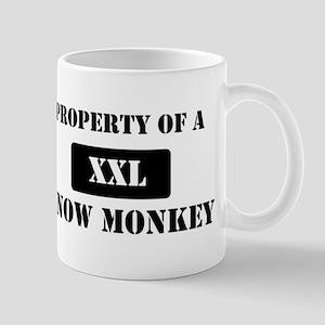 Property of a Snow Monkey Mug