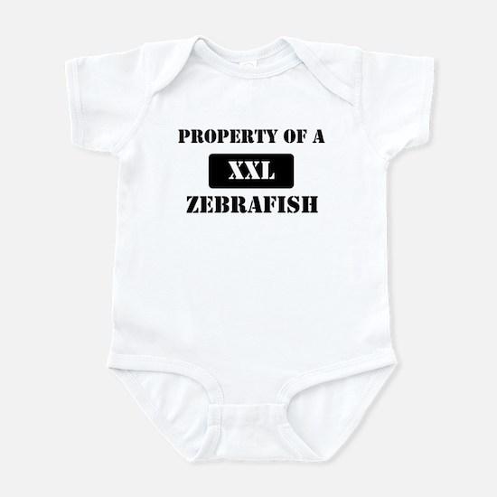 Property of a Zebrafish Infant Bodysuit