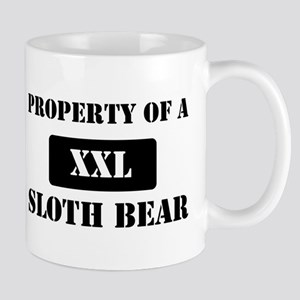 Property of a Sloth Bear Mug