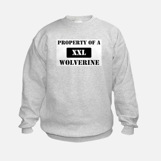 Property of a Wolverine Sweatshirt