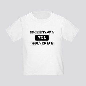 Property of a Wolverine Toddler T-Shirt