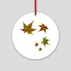 Japanese Maple Ornament (Round)