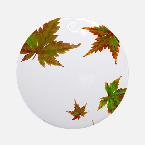 Japanese Maple Ornament (Round)