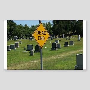 Dead End - Rectangle Sticker