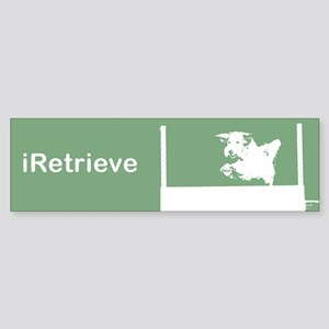 iRetrieve (Obedience) Bumper Sticker