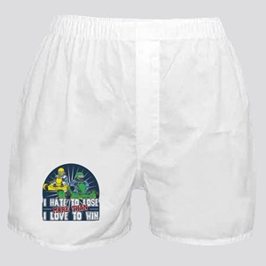 Hate to Lose Go Kart Boxer Shorts
