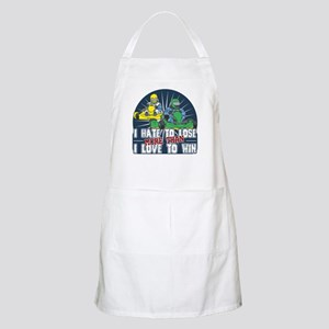 Hate to Lose Go Kart BBQ Apron