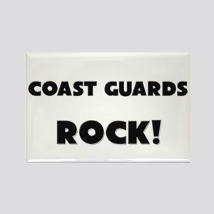 Coast Guards ROCK Rectangle Magnet