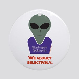 Selective Abduction Ornament (Round)