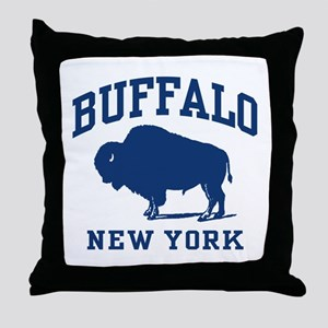 Buffalo New York Throw Pillow