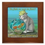 Fish Framed Tile