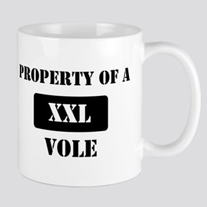 Property of a Vole Mug