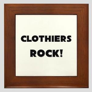 Clothiers ROCK Framed Tile
