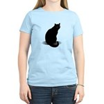 Basic Black Cat Women's Light T-Shirt