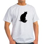 Basic Black Cat Light T-Shirt