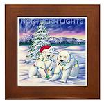 Northern Lights Framed Tile