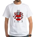 Lapi Family Crest White T-Shirt