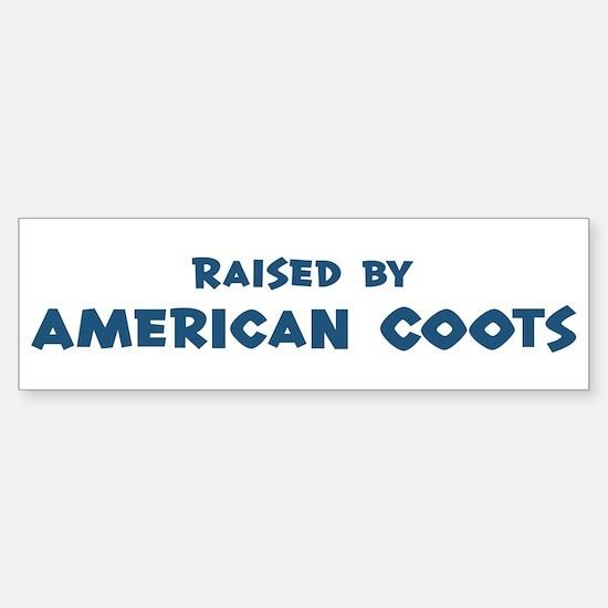 Raised by American Coots Bumper Bumper Bumper Sticker