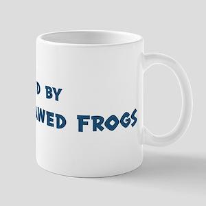 Raised by African Clawed Frog Mug