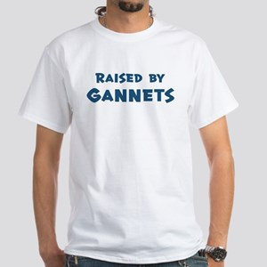 Raised by Gannets White T-Shirt