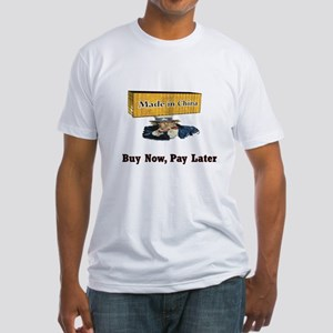Buy Now--Pay Later Fitted T-Shirt