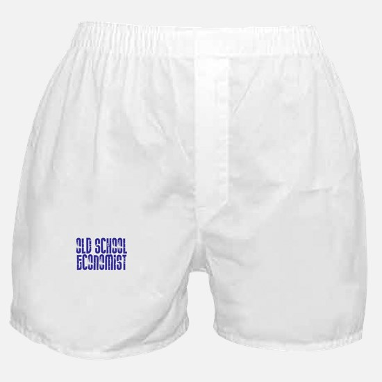Old School Economist Boxer Shorts