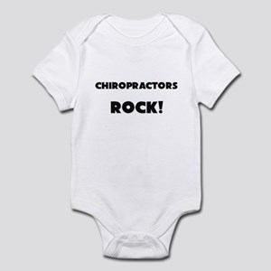 Chiropractors ROCK Infant Bodysuit